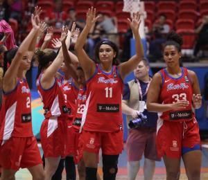 Dominante inicio de Puerto Rico en el Preclasificatorio Olímpico femenino