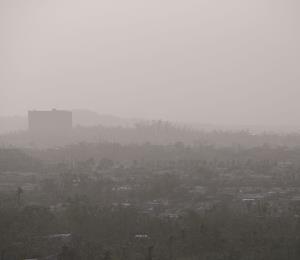 Atento el gobierno a la calidad del aire