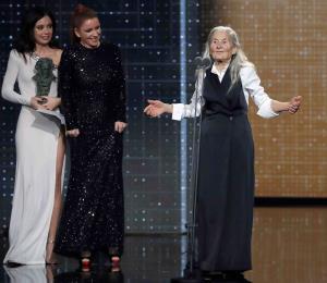 A sus 84 años, Benedicta Sánchez gana el premio a mejor actriz revelación en los Premios Goya