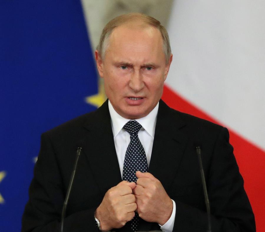 Vladímir Putin intentará avanzar en la desnuclearización de la península coreana cuando se reúna Kim Jong-un. (EFE) (semisquare-x3)