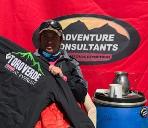 Sazón caribeño para alpinistas del Everest