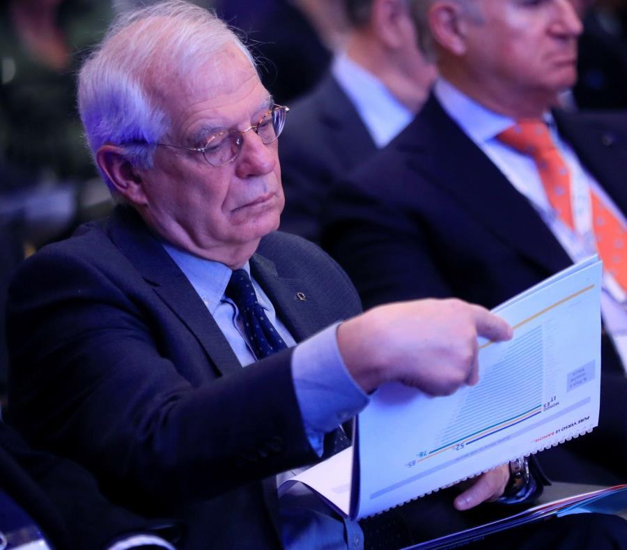 El ministro de Relaciones Exteriores, Josep Borrell (semisquare-x3)