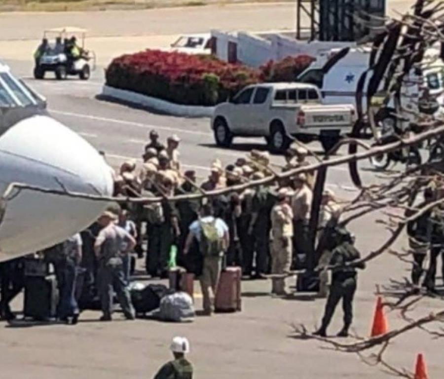 Alrededor de 100 soldados rusos llegaron el sábado pasado a Venezuela (semisquare-x3)