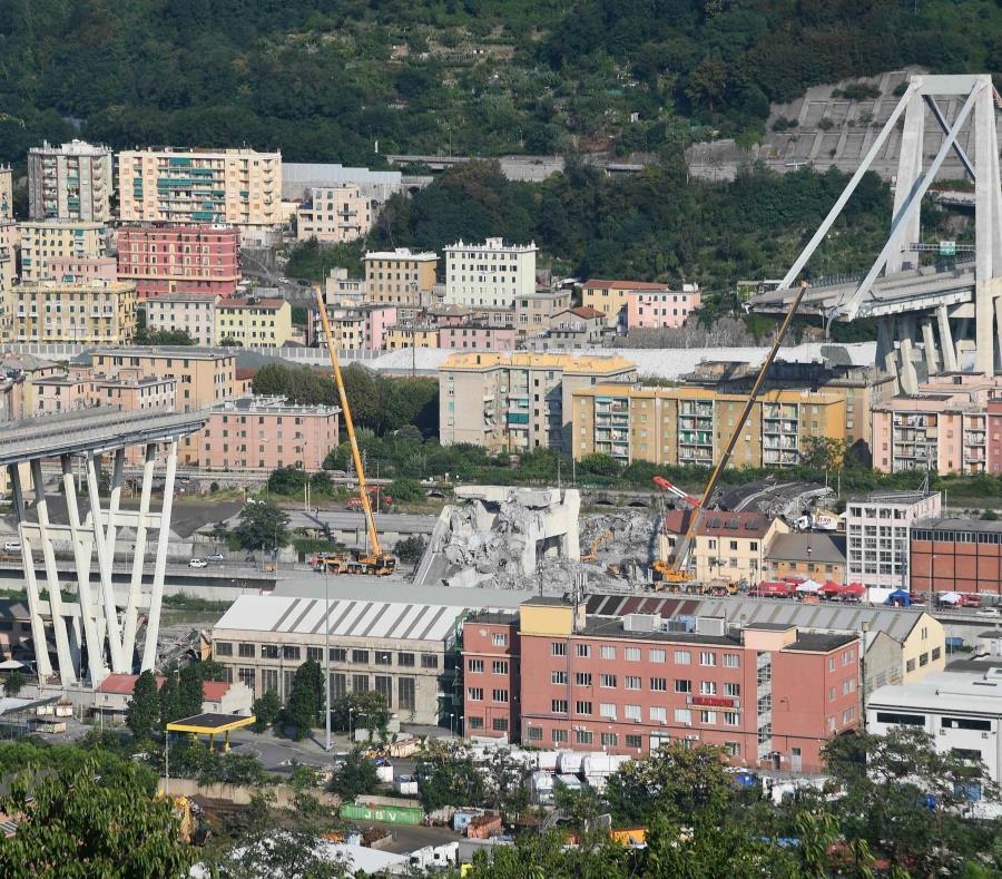 El Morandi de Génova es el quinto puente que colapsa en Italia en cinco años (semisquare-x3)