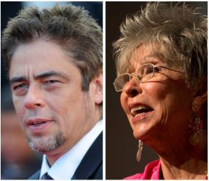 Benicio del Toro y Rita Moreno son nominados a los Critic's Choice Awards