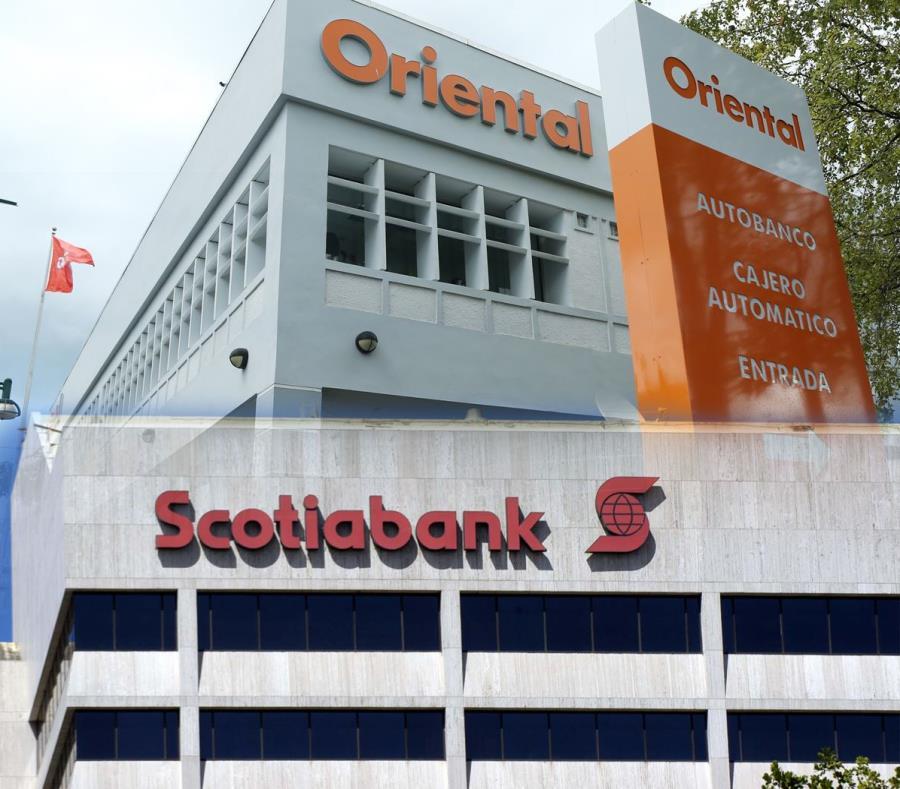 Fachada de Scotiabank y Oriental. (GFR Media) (semisquare-x3)