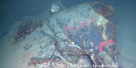 Hallan un submarino francés hundido hace más de 50 años