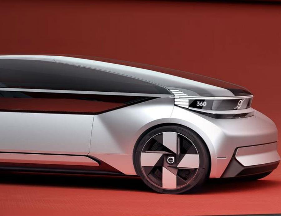 Volvo diseña un vehículo autónomo que competirá con los aviones (semisquare-x3)
