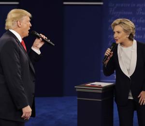 El debate selló el triunfo de Hillary Clinton