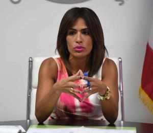 La procuradora de las Mujeres realiza una alianza con los canales de televisión