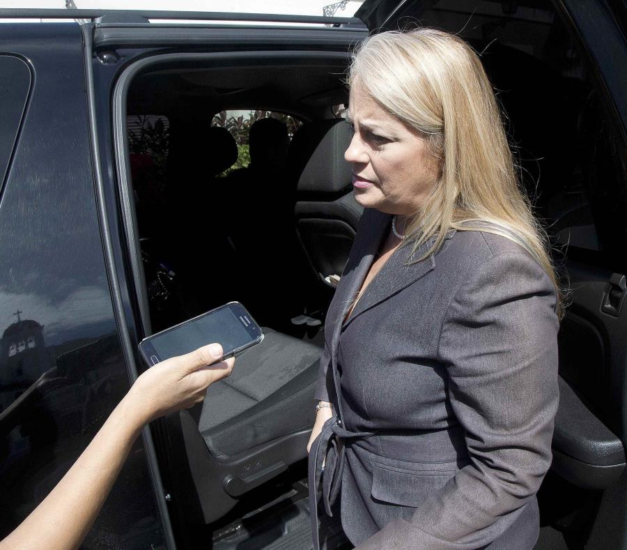 A la secretaria Wanda Vázquez Garced se le imputa haber participado de una reunión en la que se discutía el caso de su hija en el Departamento de Justicia. (semisquare-x3)