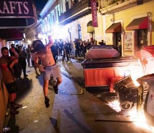 Crisis en Puerto Rico: la protesta en la protesta