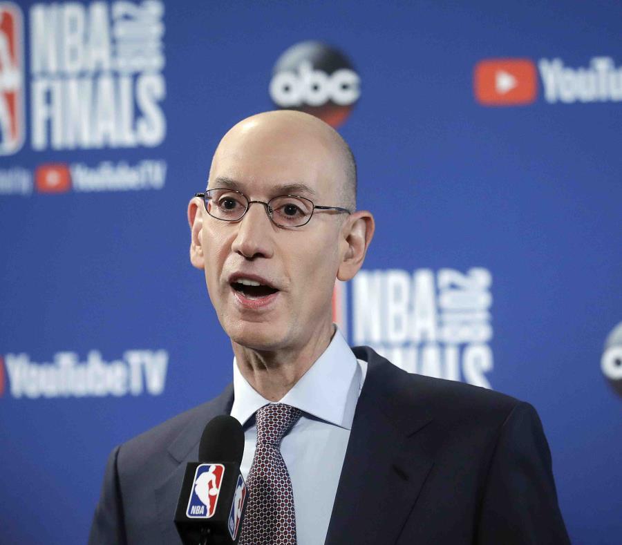 Adam Silver, comisionado de la NBA. (AP) (semisquare-x3)