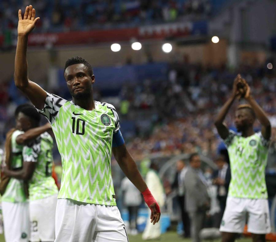 John Obi Mikel es el capitán de la selección de fútbol de Nigeria. (AP) (semisquare-x3)