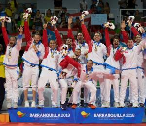 Selección de voleibol masculino captura el oro en Barranquilla
