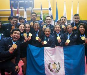 Guatemala domina el medallero en los  XI Juegos Centroamericanos