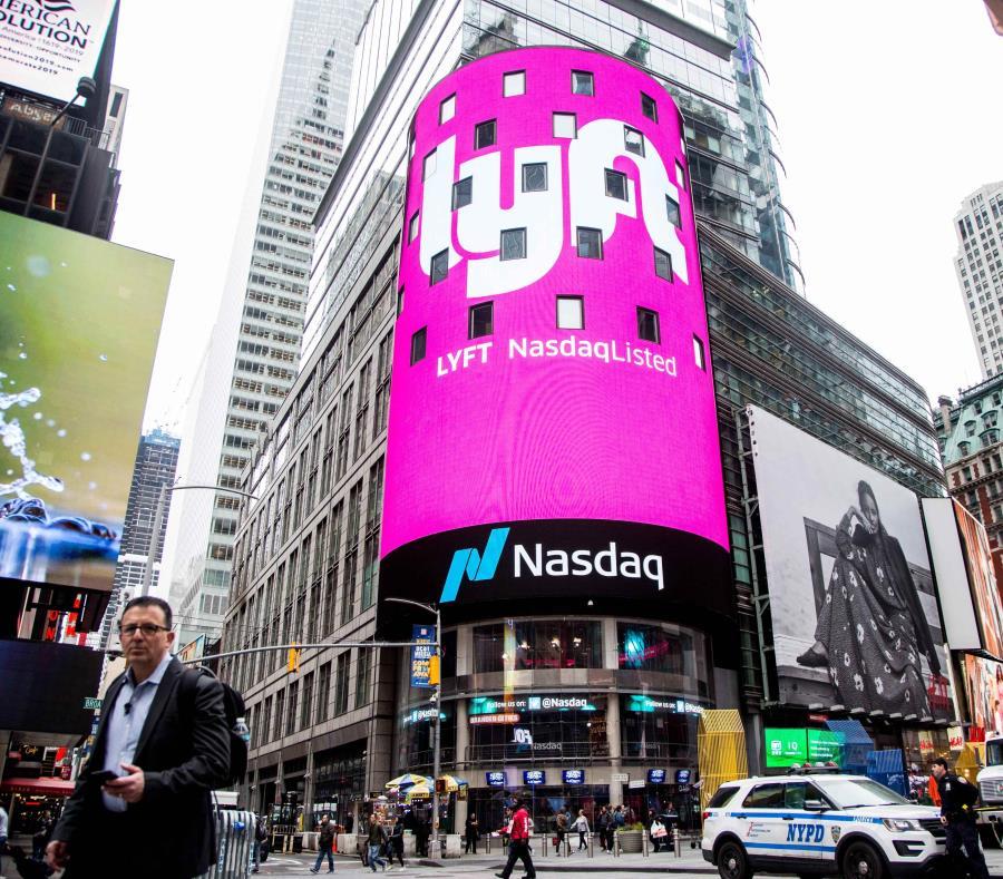 Lyft dio un brinco de 8.7% para venderse en $78.29 la acción. (EFE/ Alba Vigaray) (semisquare-x3)