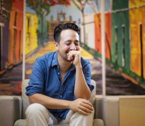La tierna conversación sobre Puerto Rico entre Lin-Manuel Miranda y su hijo Sebastián