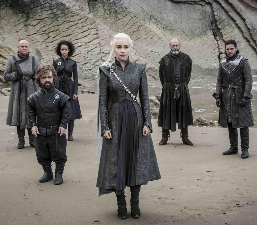 Escena de la temporada número seis de Game of Thrones. (AP) (semisquare-x3)