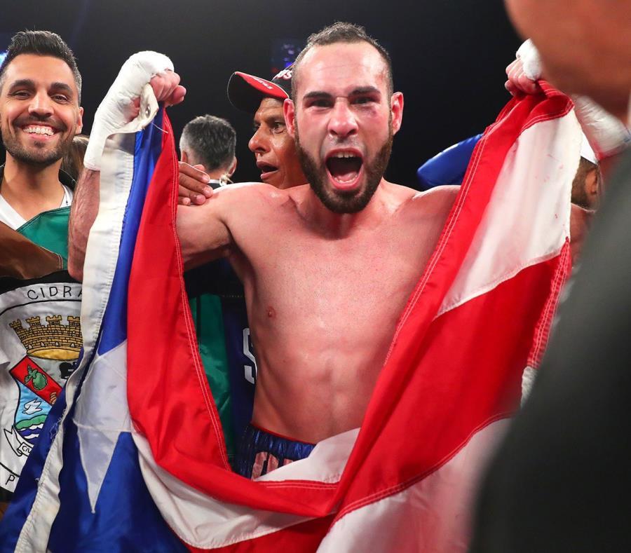 El boxeador José Pedraza celebra una victoria. (Suministrada/Archivo) (semisquare-x3)