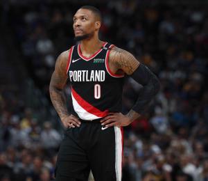 Damian Lillard advierte que solo jugará si los Trail Blazers de Portland tienen posibilidades de llegar a playoffs