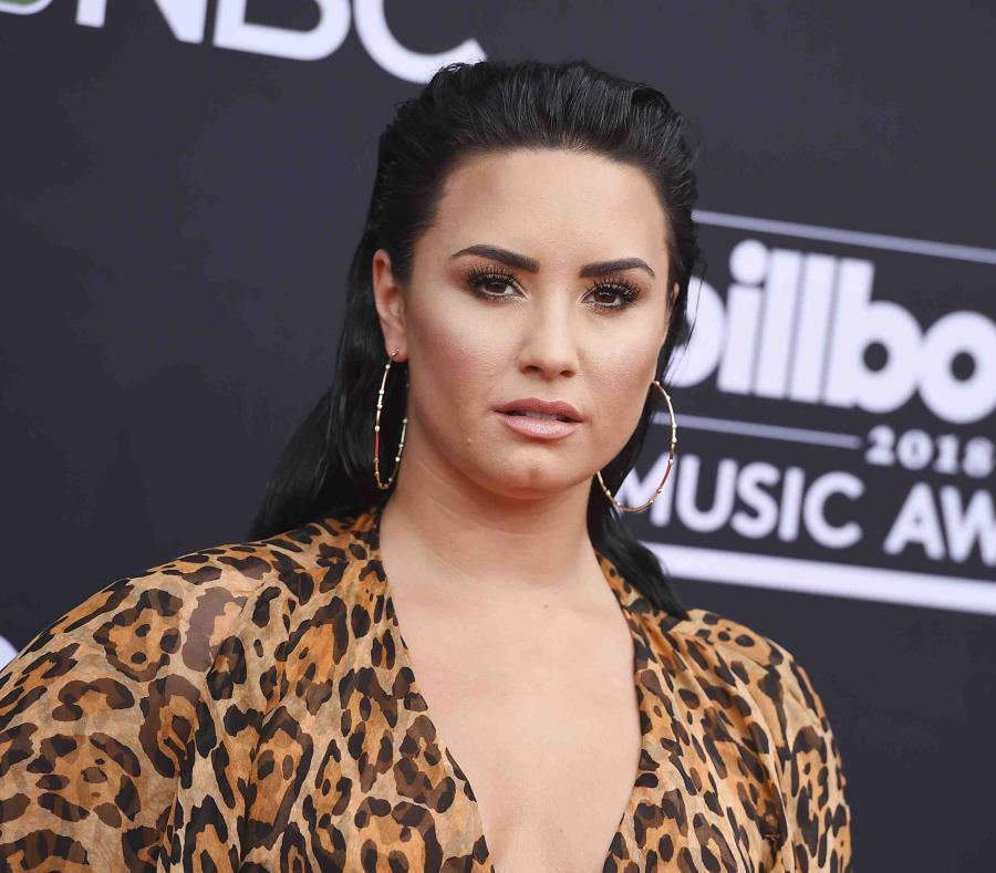 Demi Lovato apareció luego de la sobredosis