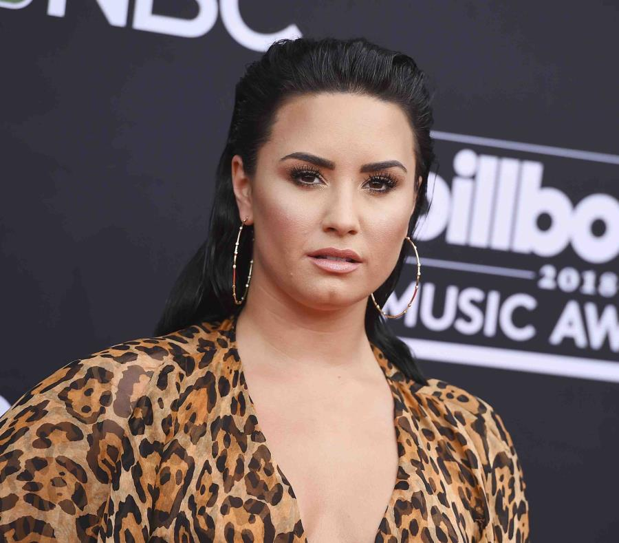 La primera imagen de Demi Lovato después de la sobredosis