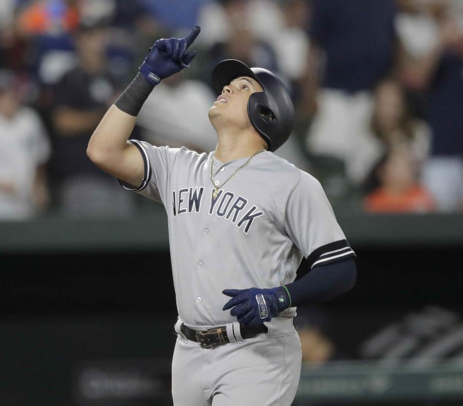 Yankees hunden a Orioles con 4 HR en 1er juego