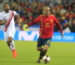 David Silva se va de la selección de España