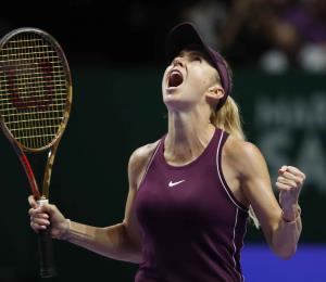 Svitolina vence a Bertens en las semifinales del Final de WTA