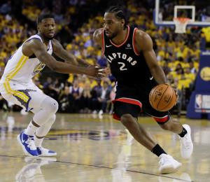Guerra desigual entre Raptors y Warriors