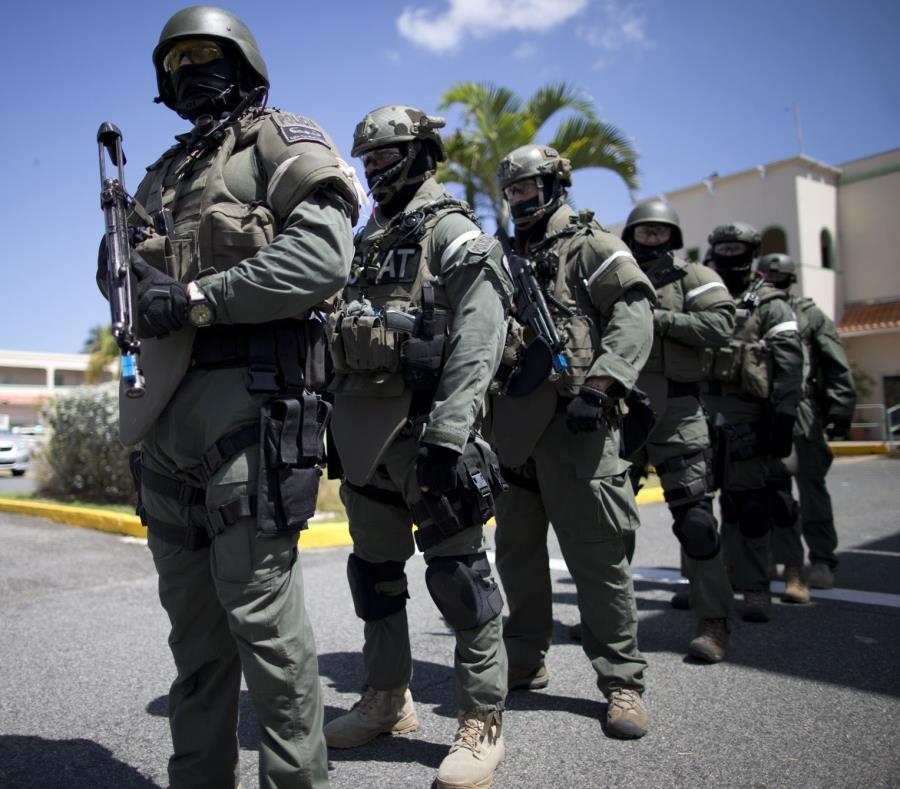 En la foto agentes del SWAT (semisquare-x3)