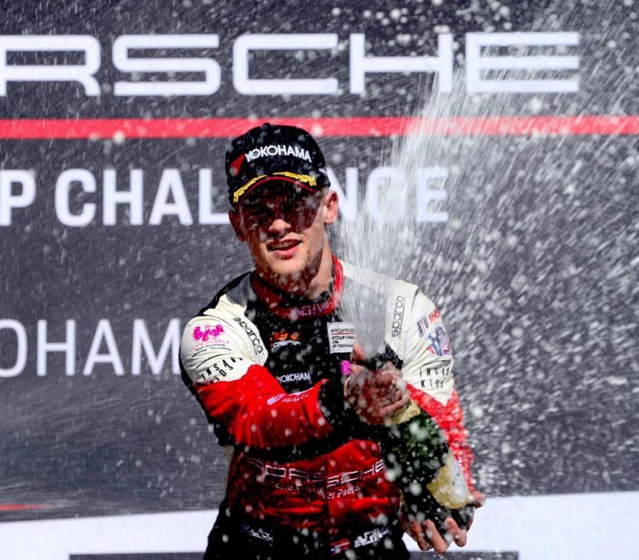 El piloto puertorriqueño Víctor Gómez IV comenzó una nueva temporada de carrera de autos en Estados Unidos. (Suministrada) (semisquare-x3)