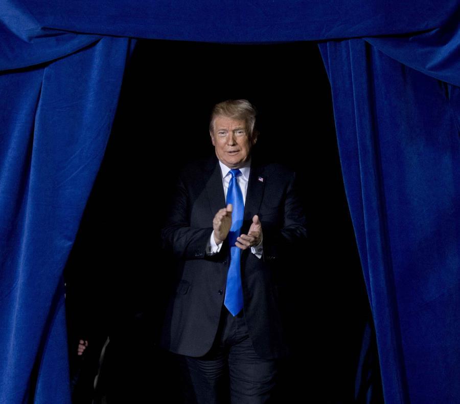 Trump reconoce que el cambio climático no es un