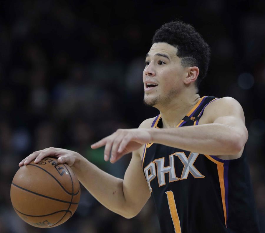 Devin Booker firma extensión máxima con Suns por $158 millones