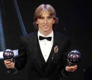 La FIFA selecciona a Luka Modric como el futbolista del año