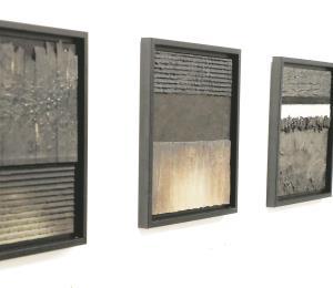Ricardo Ávalo recurre a un lenguaje escultórico y experimental en su nueva exposición