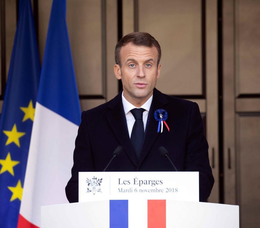 Detuvieron a seis personas que planeaban atacar al presidente francés