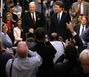 Acusadora de Kavanaugh hablará en el Congreso el jueves