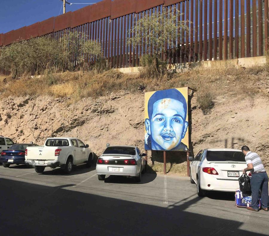 El joven de 16 años Jose Antonio Elena Rodriguez murió baleado por agentes fronterizos. (AP) (semisquare-x3)