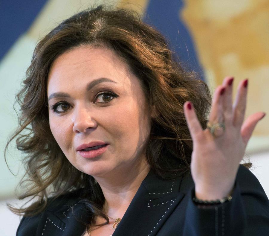 En la foto la abogada, Natalia Veselnitskaya. (AP) (semisquare-x3)