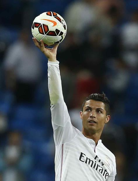 Cristiano Ronaldo conquistó cuatro 'Champions' en 5 años con Real Madrid. (AP) (vertical-x1)