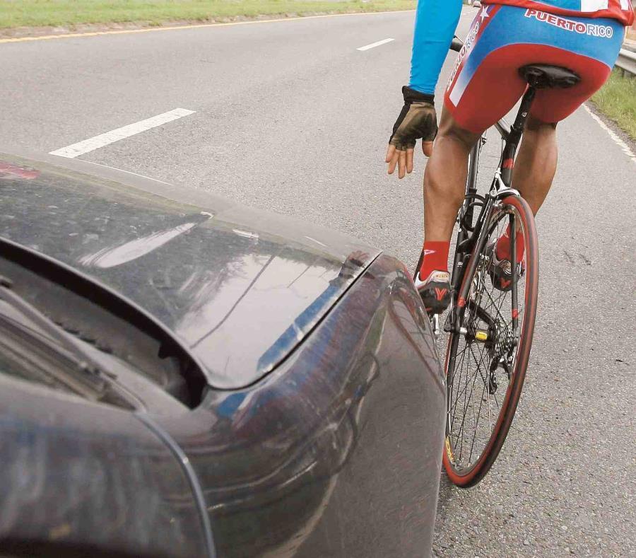 Unos cinco ciclistas sufrieron heridas menores (semisquare-x3)