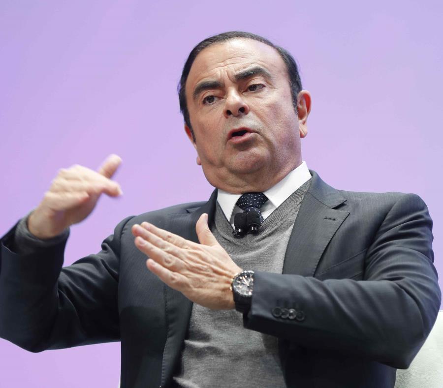 Carlos Ghosn, presidente de la junta y director general de Nissan Motor Co. (AP) (semisquare-x3)