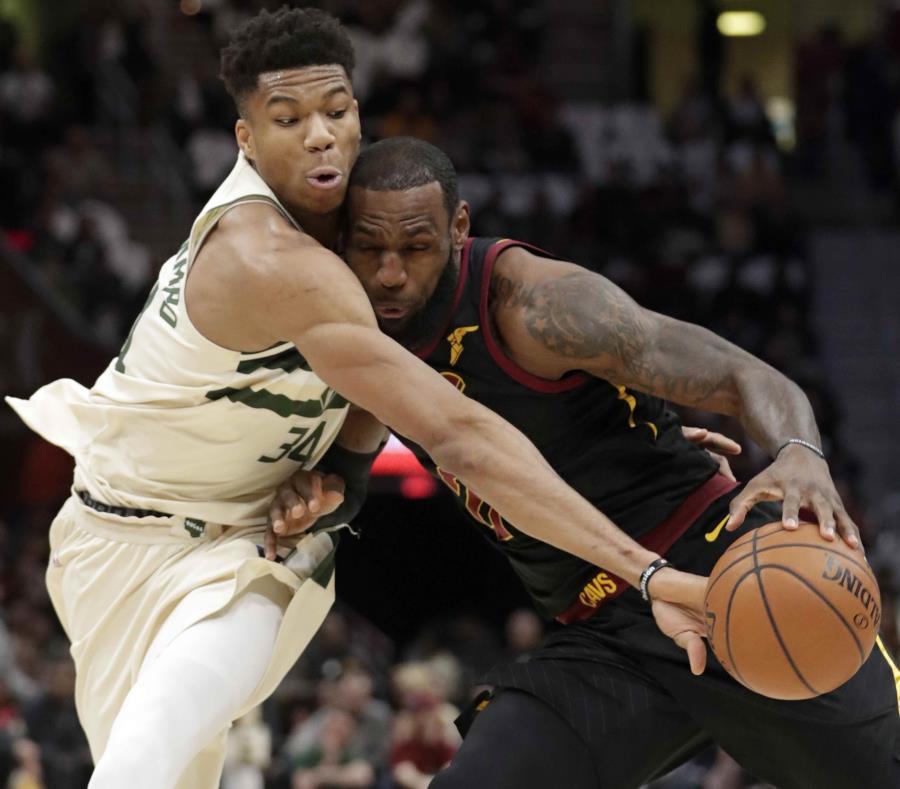 NBA: LeBron y Giannis eligieron sus equipos para el All Star Game