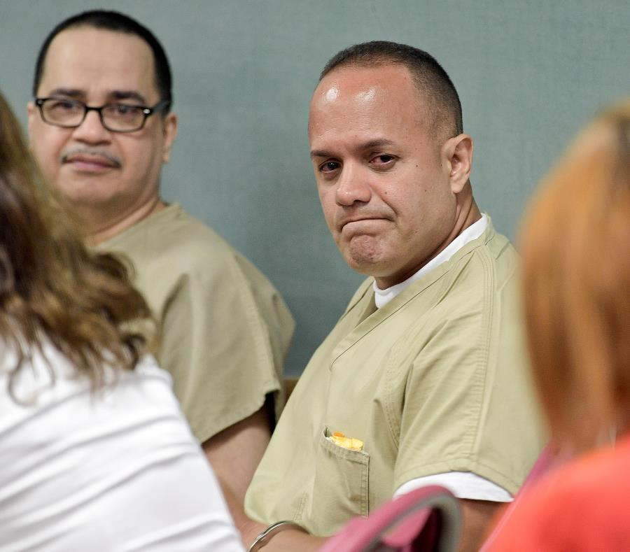Juan Carlos Méndez y Antonio Ramos fueron convictos en 1992 por el asesinato de Haydée Maymí y sus hijos, Eduardo y Melissa. (GFR Media) (semisquare-x3)
