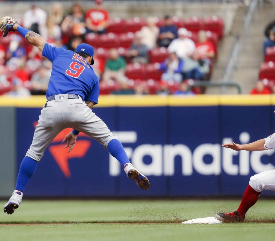 Báez batea .322 en lo que va de temporada. (AP Photo/John Minchillo) (semisquare-x3)