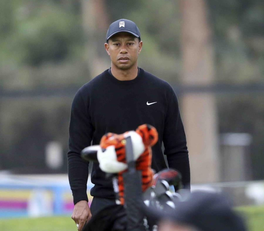 Tiger Woods en el torneo Genesis Open, Los Ángeles. (semisquare-x3)