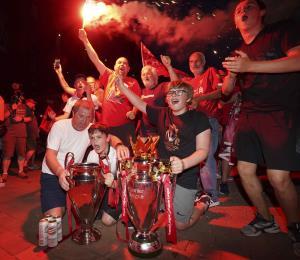 Liverpool es campeón de la Liga Premier tras una sequía de 30 años