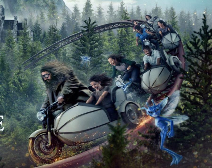 Hagrid's Magical Creatures Motorbike Adventure será la atracción más larga de Florida. (Suministrada) (semisquare-x3)